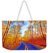 Where The Road Snakes Weekender Tote Bag