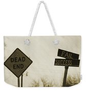 Which Road To Take Weekender Tote Bag