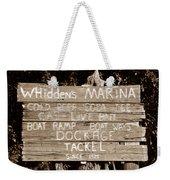 Whiddens Marina 1925 Weekender Tote Bag