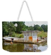 While The Captain's Away The Girls Will Play Weekender Tote Bag