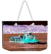 Whirlpool Jet Boat Niagara Falls Inverted Weekender Tote Bag