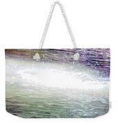 Whirlpool Of Water Suds Weekender Tote Bag