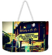 Whisky A Go Go Bar On Sunset Boulevard Weekender Tote Bag
