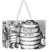 Whisky Ring Cartoon, 1875 Weekender Tote Bag