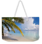 Whispering Palm On The Tropical Beach Weekender Tote Bag