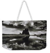 Whitby Abbey Weekender Tote Bag by Simon Marsden