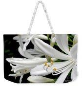 White Agapantha Weekender Tote Bag