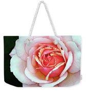 White And Pink Weekender Tote Bag