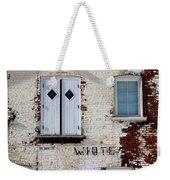 White Brick Weekender Tote Bag