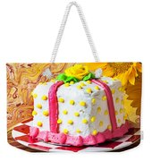White Cake Weekender Tote Bag