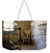 White Chair In The Bedroom Weekender Tote Bag