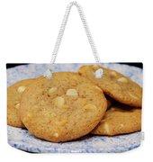 White Chocolate Chip Cookies Weekender Tote Bag