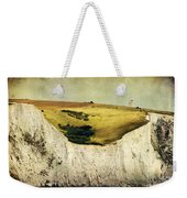 White Cliffs Lighthouse Weekender Tote Bag