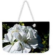 White Dew Weekender Tote Bag