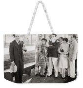 White Flannels, 1927 Weekender Tote Bag