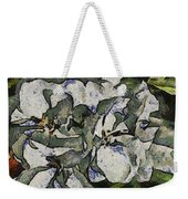 White Geraniums   -- Vangogh Weekender Tote Bag