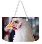 White Hen Weekender Tote Bag