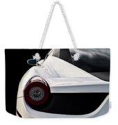 White Italia Weekender Tote Bag by Douglas Pittman