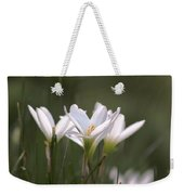 White Lily - Symbol Of Purity Weekender Tote Bag