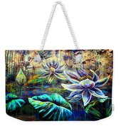 White Lotus Weekender Tote Bag