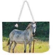 White Mule No.5007 Weekender Tote Bag