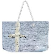 White Nelly Weekender Tote Bag