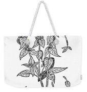 White Nettle Weekender Tote Bag