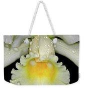 White Orchid Weekender Tote Bag