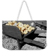 White Pumpkin Harvest Weekender Tote Bag