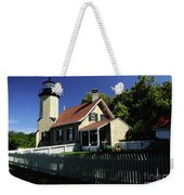 White River Light Weekender Tote Bag