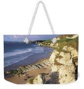 White Rocks Beach, Between Portrush & Weekender Tote Bag