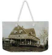 White Roe Boarding House-owner E Keene Prior To My Grandfather. Circ 1900s Weekender Tote Bag