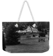 White Roe Lake Hotel - Livingston Manor Ny - Lawn To Lake Weekender Tote Bag