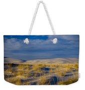 White Sands Golden Grass Weekender Tote Bag
