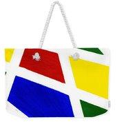 White Stripes 2 Weekender Tote Bag