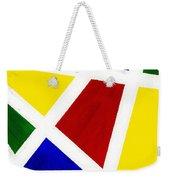 White Stripes 3 Weekender Tote Bag
