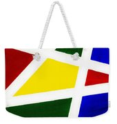 White Stripes 4 Weekender Tote Bag
