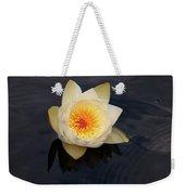 White Water-lily 2 Weekender Tote Bag