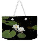 White Water-lily 4 Weekender Tote Bag