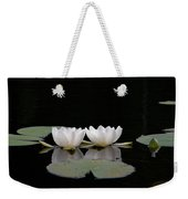 White Water-lily 6 Weekender Tote Bag