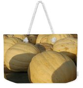 White Yellow Pumpkins Weekender Tote Bag