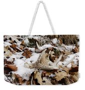 Whitetail Deer Antler  - Half Of 10 Weekender Tote Bag