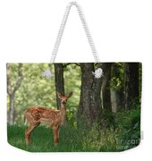 Whitetail Deer Fawn Weekender Tote Bag