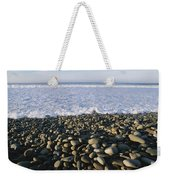 Whitewater From Crashing Waves Washes Weekender Tote Bag