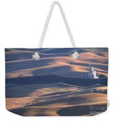 Whitman County Granary At Sunset Weekender Tote Bag