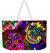 Who Do You See When Facing A Mirror Weekender Tote Bag