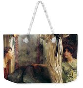 Who Is It Weekender Tote Bag