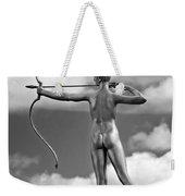 Who Needs Cupid 2 Monochrome Weekender Tote Bag