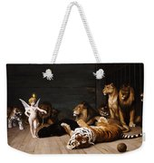Whoever You Are Here Is Your Master Weekender Tote Bag by Jean Leon Gerome