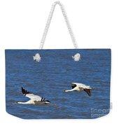 Whooping Cranes Weekender Tote Bag